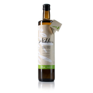 Huile d'olive Intenso (fruité vert) - Bouteille 75 cL